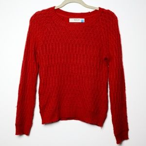 Sparrow | Anthro Red Wool Blend Sweater